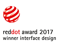 Winner Red Dot Award 2017